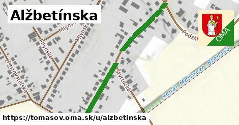 ilustrácia k Alžbetínska, Tomášov - 482m