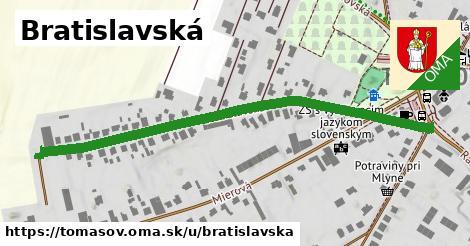 ilustrácia k Bratislavská, Tomášov - 654m