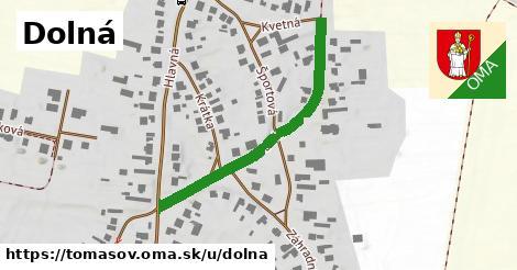 ilustrácia k Dolná, Tomášov - 400m