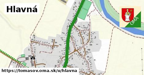 ilustrácia k Hlavná, Tomášov - 1,50km