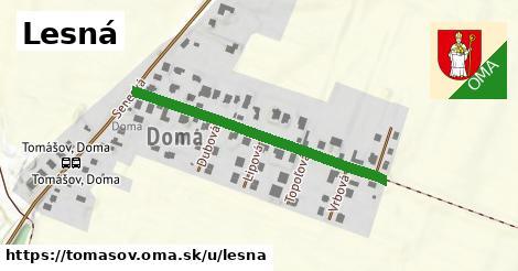 ilustrácia k Lesná, Tomášov - 387m