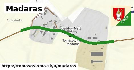ilustrácia k Madaras, Tomášov - 509m
