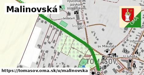 ilustrácia k Malinovská, Tomášov - 673m