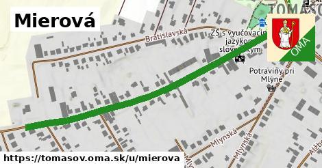 ilustrácia k Mierová, Tomášov - 680m