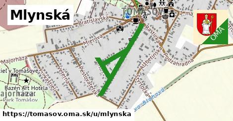 ilustrácia k Mlynská, Tomášov - 0,89km