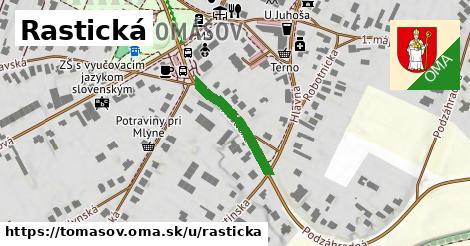 ilustrácia k Rastická, Tomášov - 652m