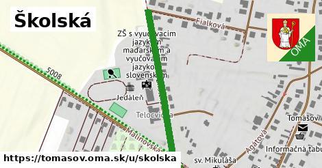 ilustračný obrázok k Školská, Tomášov