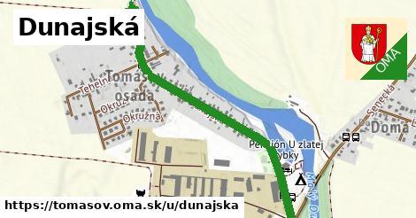 ilustrácia k Dunajská, Tomášov - 1,11km