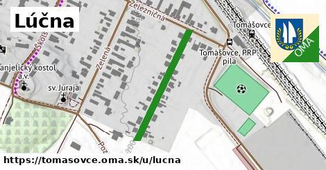 ilustrácia k Lúčna, Tomášovce - 284m
