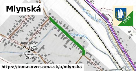 ilustrácia k Mlynská, Tomášovce - 424m