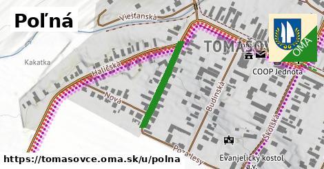 ilustrácia k Poľná, Tomášovce - 236m