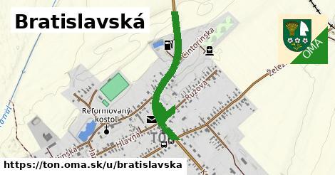 ilustrácia k Bratislavská, Tôň - 1,14km
