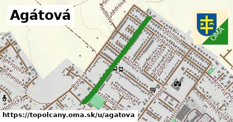 ilustrácia k Agátová, Topoľčany - 0,70km