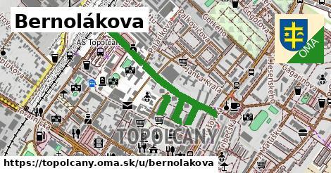 ilustračný obrázok k Bernolákova, Topoľčany