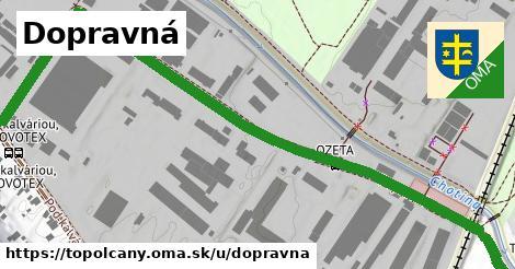 ilustrácia k Dopravná, Topoľčany - 205m
