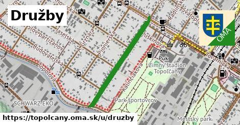 ilustrácia k Družby, Topoľčany - 659m