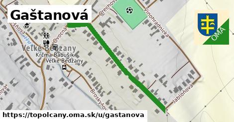 ilustrácia k Gaštanová, Topoľčany - 434m