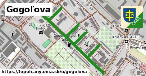 ilustrácia k Gogoľova, Topoľčany - 0,85km