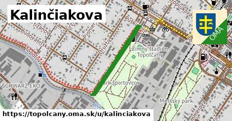 ilustrácia k Kalinčiakova, Topoľčany - 685m