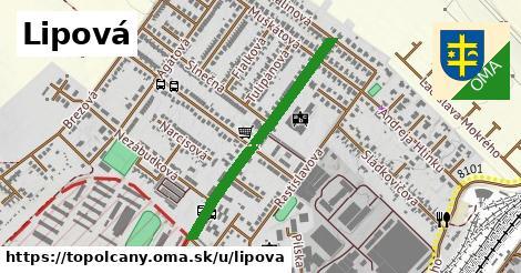 ilustrácia k Lipová, Topoľčany - 1,10km