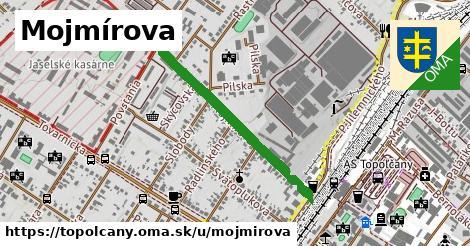 ilustrácia k Mojmírova, Topoľčany - 680m