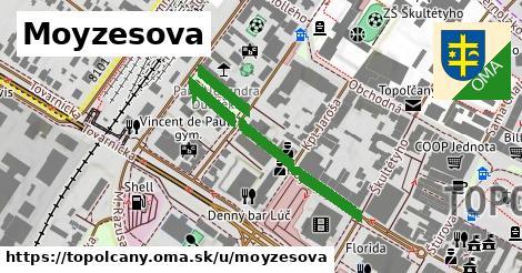 ilustrácia k Moyzesova, Topoľčany - 332m