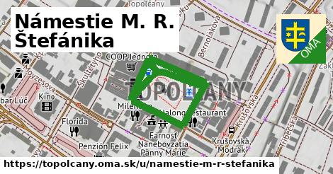 ilustrácia k Námestie M. R. Štefánika, Topoľčany - 0,71km