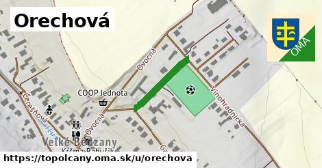ilustrácia k Orechová, Topoľčany - 171m