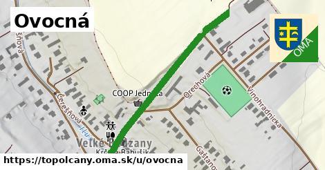 ilustrácia k Ovocná, Topoľčany - 471m