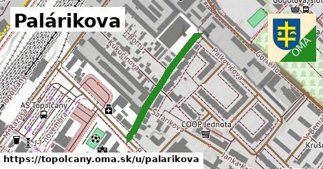 ilustračný obrázok k Palárikova, Topoľčany