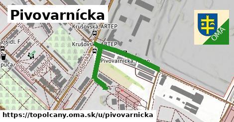 ilustračný obrázok k Pivovarnícka, Topoľčany