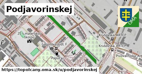 ilustrácia k Podjavorinskej, Topoľčany - 371m
