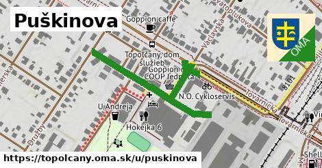 ilustrácia k Puškinova, Topoľčany - 337m