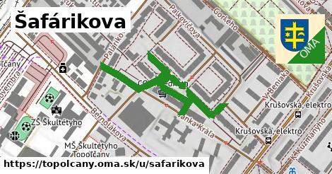 ilustračný obrázok k Šafárikova, Topoľčany