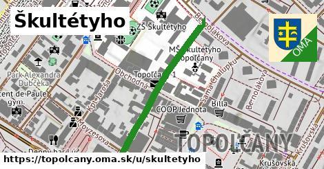 ilustrácia k Škultétyho, Topoľčany - 355m