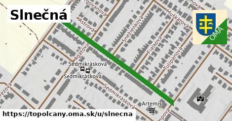 ilustrácia k Slnečná, Topoľčany - 457m