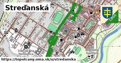 ilustračný obrázok k Streďanská, Topoľčany