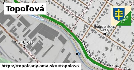 ilustračný obrázok k Topoľová, Topoľčany
