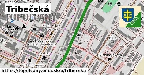 ilustrácia k Tríbečská, Topoľčany - 526m