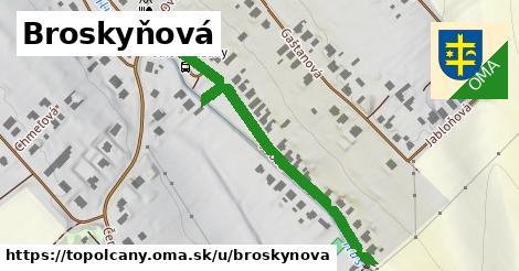 ilustrácia k Broskyňová, Topoľčany - 668m