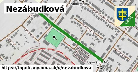 ilustrácia k Nezábudková, Topoľčany - 458m