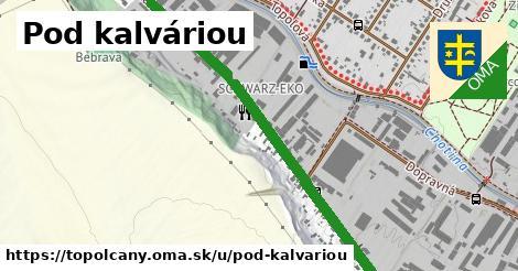 ilustrácia k Pod Kalváriou, Topoľčany - 2,0km