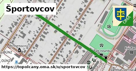 ilustrácia k Športovcov, Topoľčany - 507m