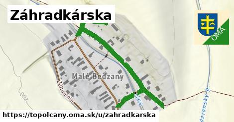 ilustrácia k Záhradkárska, Topoľčany - 364m