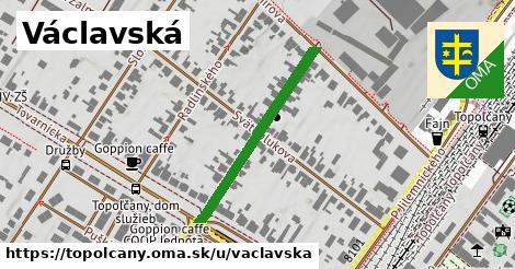ilustračný obrázok k Václavská, Topoľčany