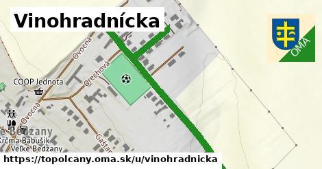 ilustrácia k Vinohradnícka, Topoľčany - 236m
