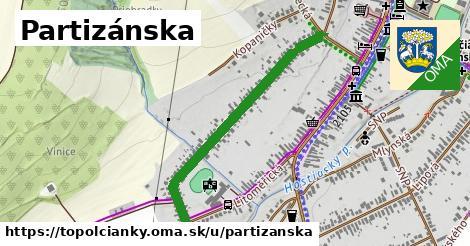 ilustrácia k Partizánska, Topoľčianky - 0,85km