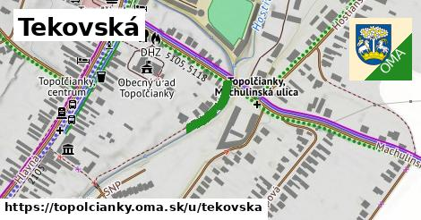 ilustrácia k Tekovská, Topoľčianky - 122m