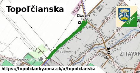 ilustrácia k Topolčianska, Topoľčianky - 680m