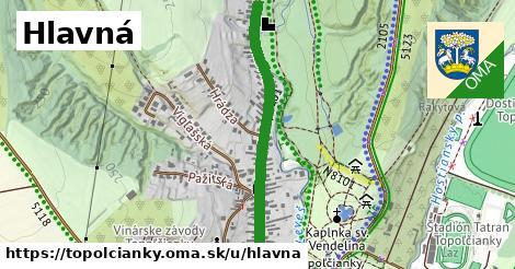 ilustrácia k Hlavná, Topoľčianky - 2,7km